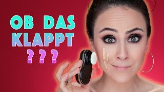 Vibrierender Foundation Applikator 😱 | LIVE TEST | First Impression | Hatice Schmidt