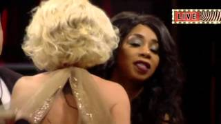 Watch Danniella leave in fifth place