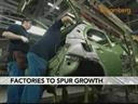 Growth Driven by U.S. Factories as Spending Slows: Video