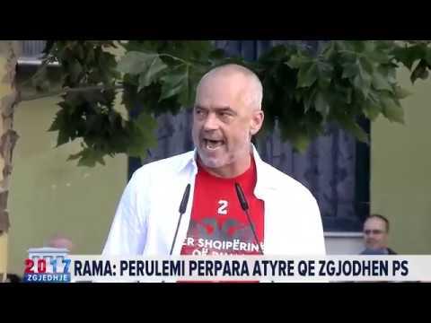 Zgjedhje 2017, Edi Rama, fjalimi i fitores (News24)