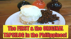 The first and the original TAPSILOG in the Philippines | Tapsi Ni Vivian Food Review | Steven Bansil
