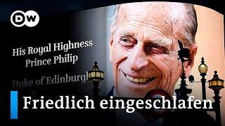 Prinz Philip mit 99 Jahren gestorben | DW Nachrichten
