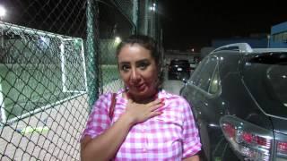 تحية شيماء علي لجمهورها عبر صفحتنا الرسميه