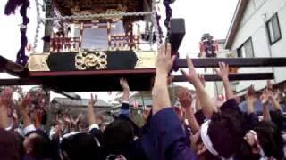 平成21年、三山の七年祭、本祭(11月22日)