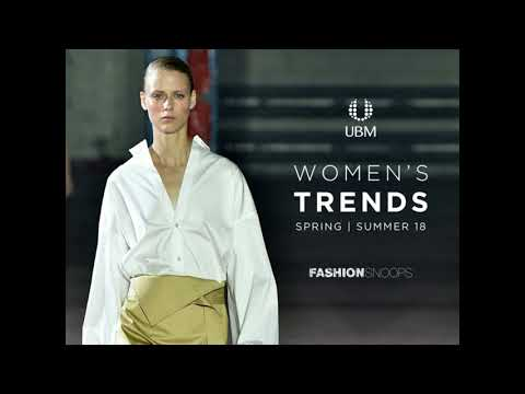 NY Women's September: Women's S/S '18 Trend Webinar with Fashion Snoops