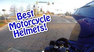 Top 5 BEST Motorcycle Helmets!