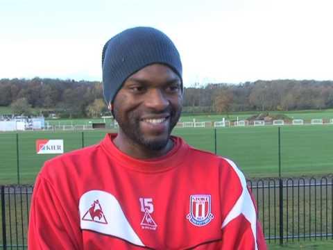 Stoke City Midfielder Salif Diao on Blackburn Rove...