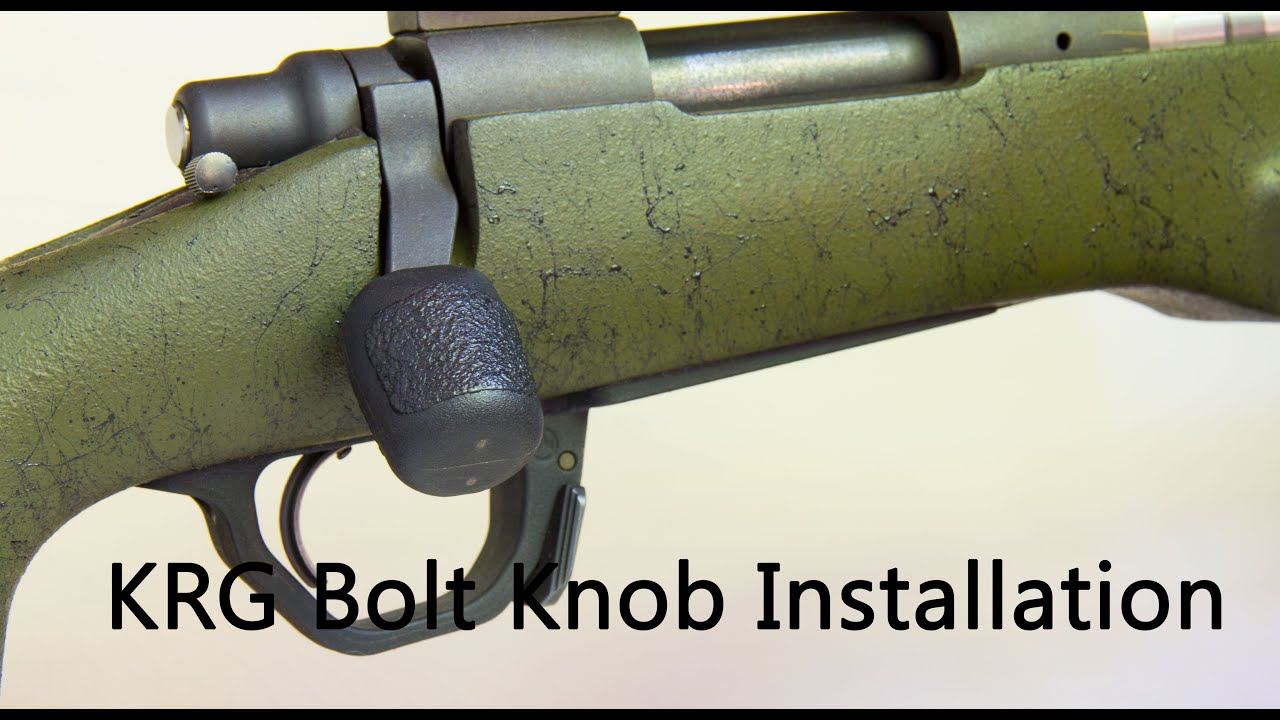 Krg Bolt Knob Install And Review Youtube