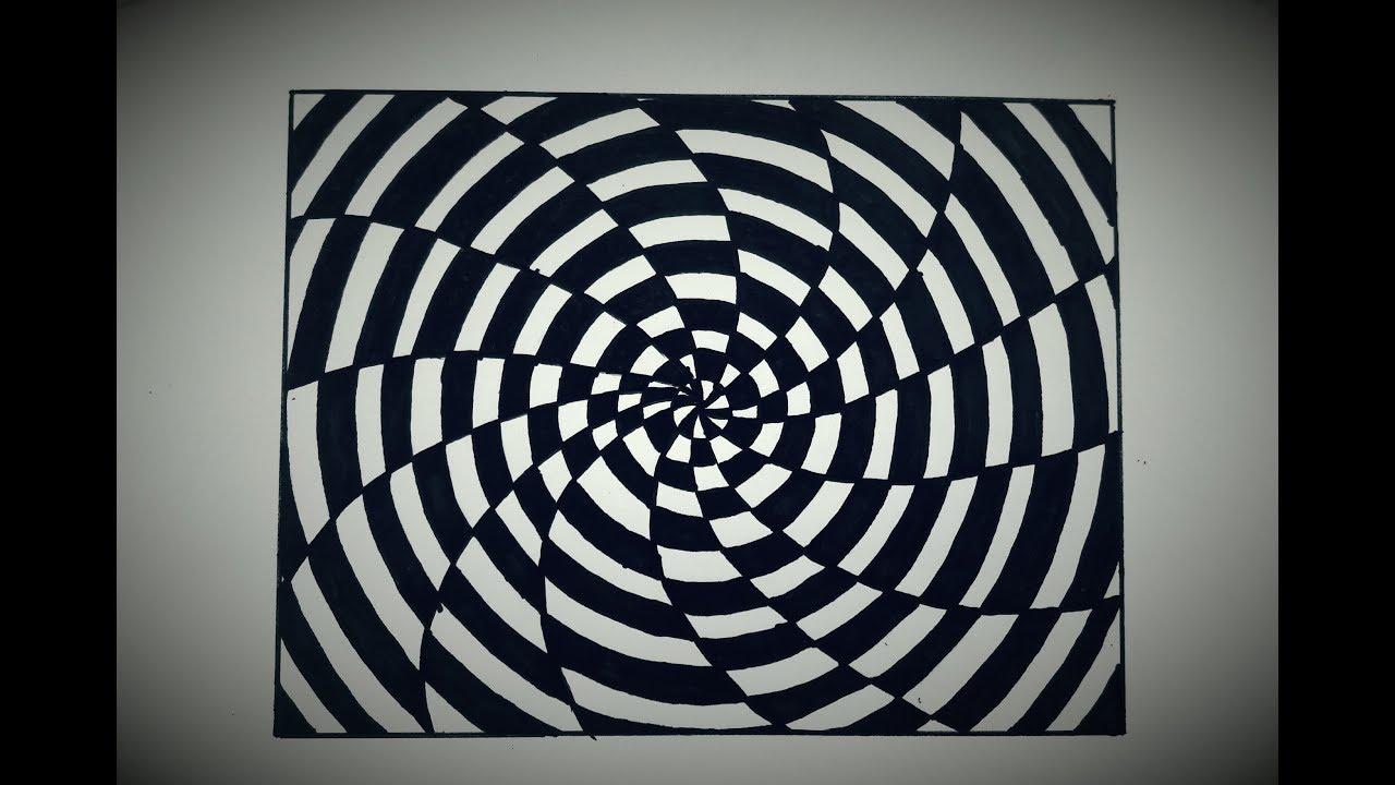 Optik İllüzyon 3D Üçgen Çizimi (Kendin Yap)