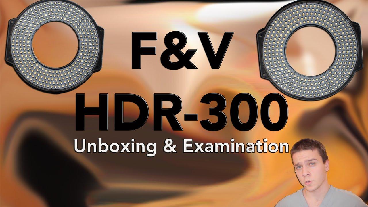 F V Led Ring Light Hdr 300