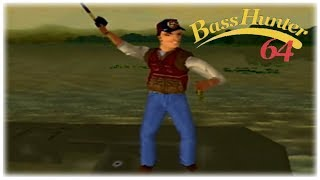 In-Fisherman Bass Hunter 64 Nintendo 64 Gameplay Walkthrough Part 3 - Tournament 3!