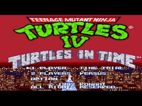 Tmnt Iv Turtles In Time Music Boss Battle Youtube