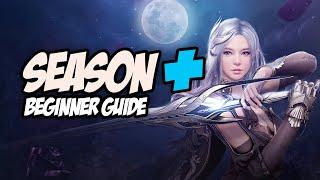 Black Desert Season+ Begİnner Guide; The Best Way to Progress as a New Player! (2021)