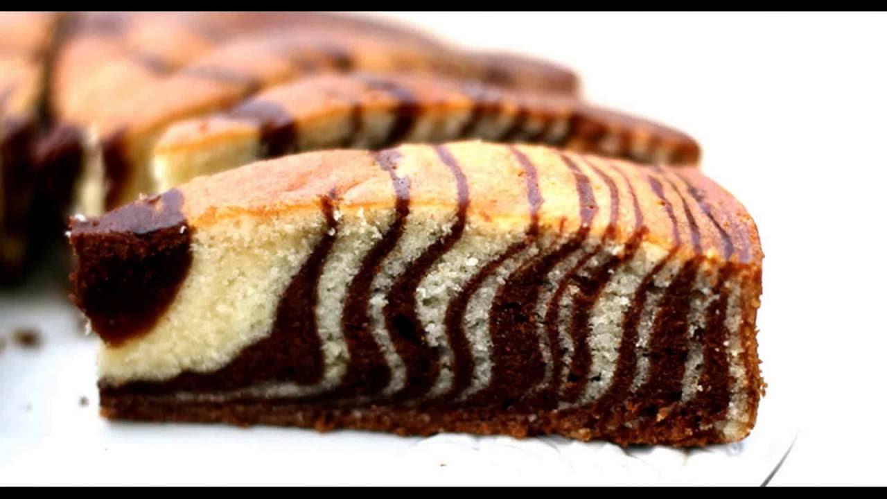 Торт пирог кекс Зебра пошаговый рецепт приготовления видео ...