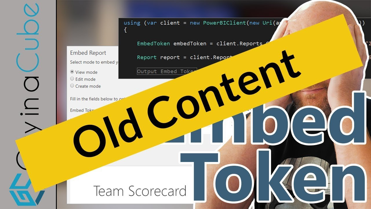 Get an embed token for your Power BI dashboards and reports