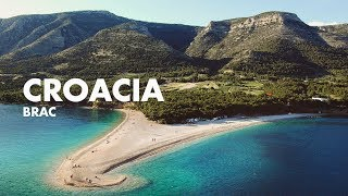 La playa más hermosa del mundo | Zlatni Rat, Brač, Croacia 🇭🇷
