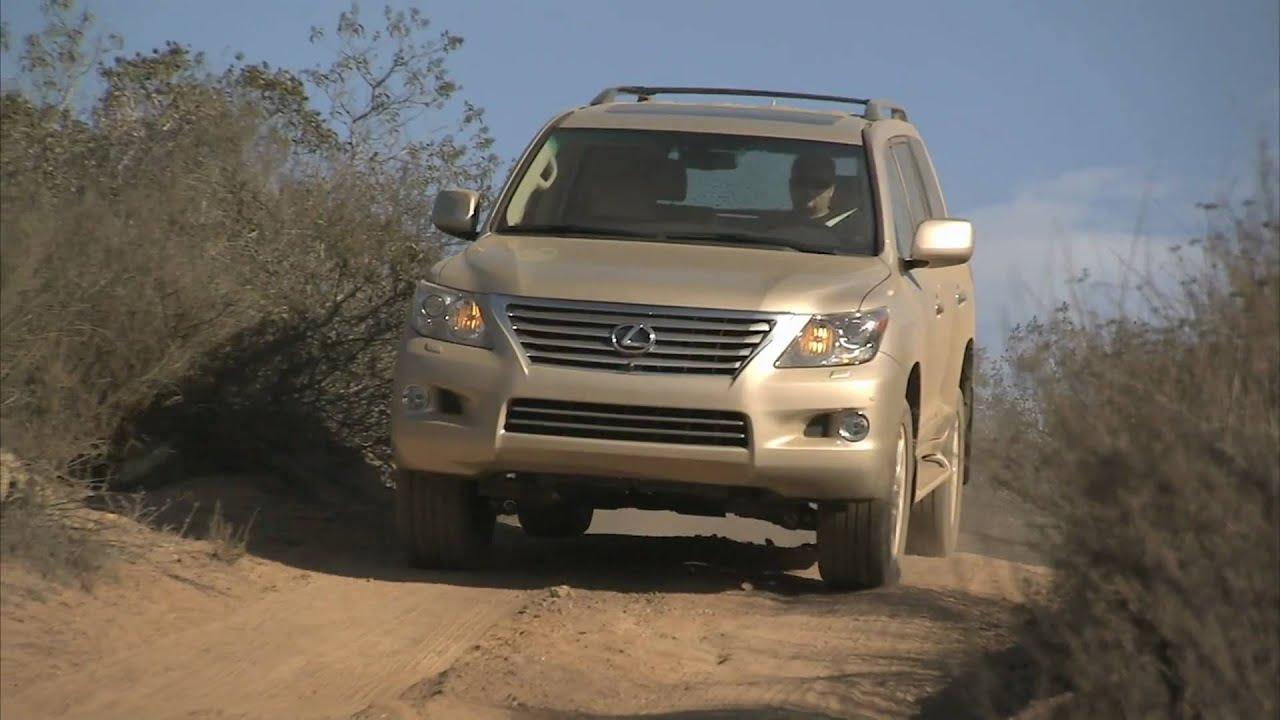 2010 Lexus LX570 Desert Video