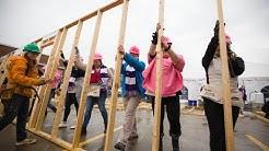 Habitat and Lowe's partner for International Women Build Day 2019