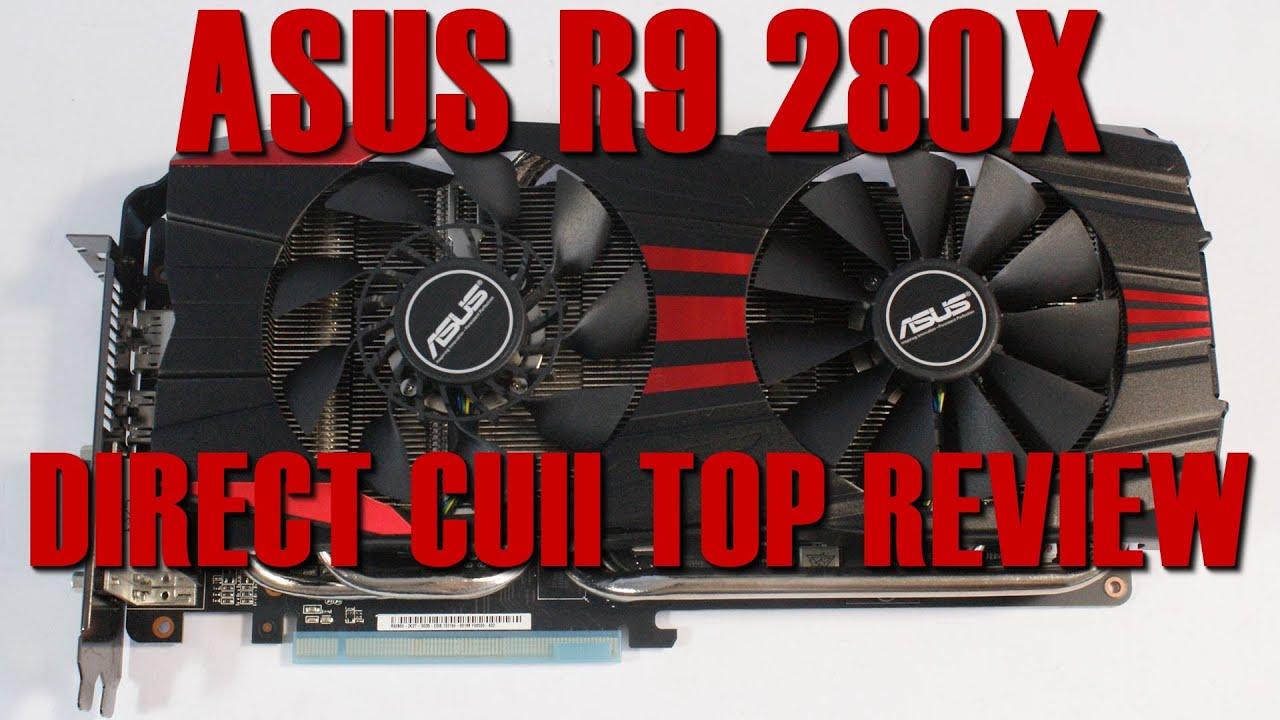 Asus R9 280X DCUII Review