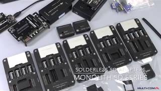 SecureDigital (SD) Adapters for Monolith cards