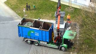Уборка мусора в Швейцарии