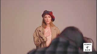 Behind the Scenes at the Story + Rain Cover Shoot with Rose Byrne 2018