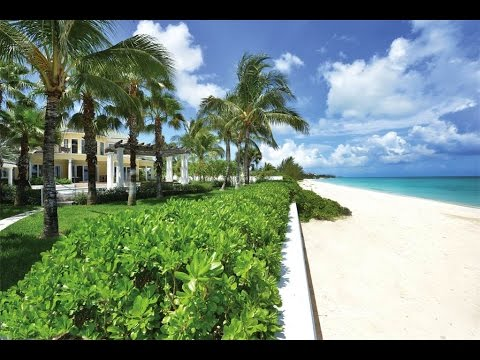 Grand Beachfront Home in Old Fort Bay, Bahamas