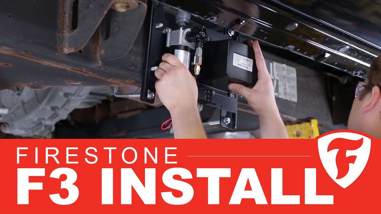2016 Ford F350 >> How to install Firestone F3 wireless air compressor kit - YouTube