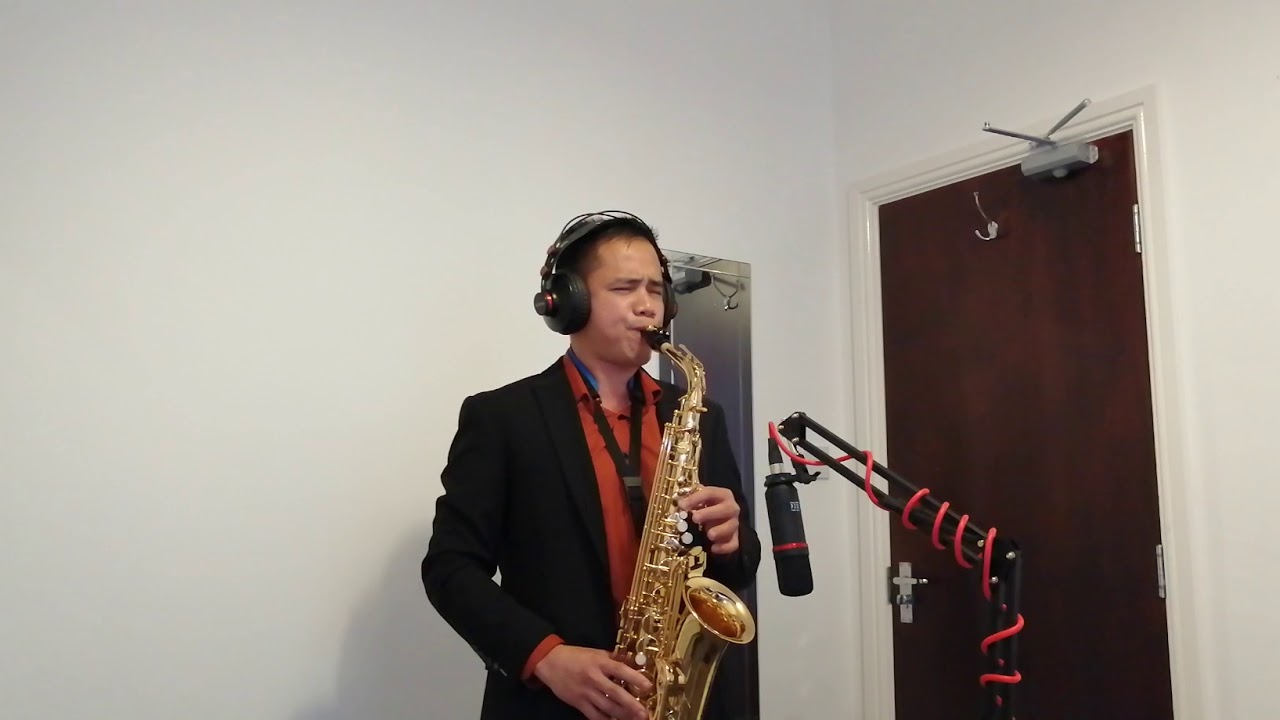 What A Wonderful World- Saxophone Cover