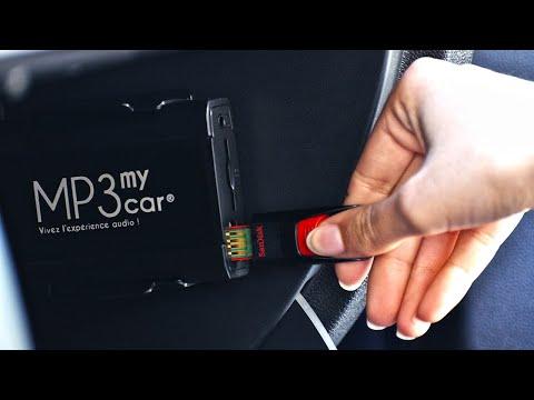 Votre musique sur clé USB ou en Bluetooth sans changer l'autoradio avec MP3MyCar