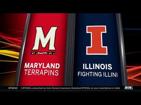 Maryland at Illinois - Men's Basketball Highlights