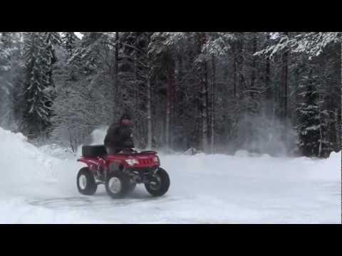 квадроцикл arctic cat 650 h1 зима №2