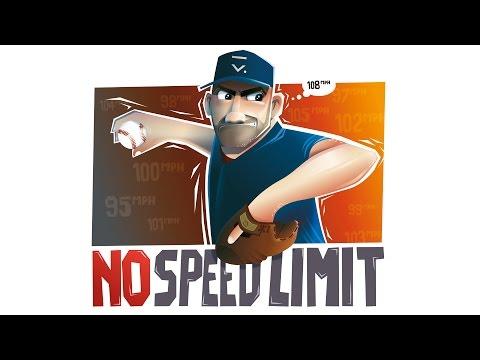 """Illustration """"No limit speed"""" - t-shirt design in Affinity Designer"""