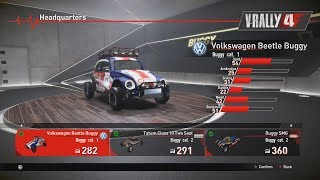 V-RALLY 4 - Cars Showroom Part 4 - Buggy