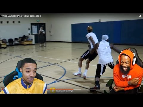 Reacting To FLIGHT GOT HIS ANKLES BROKEN AGAIN BY BONE COLLECTOR! 1vs1 REMATCH LOL!