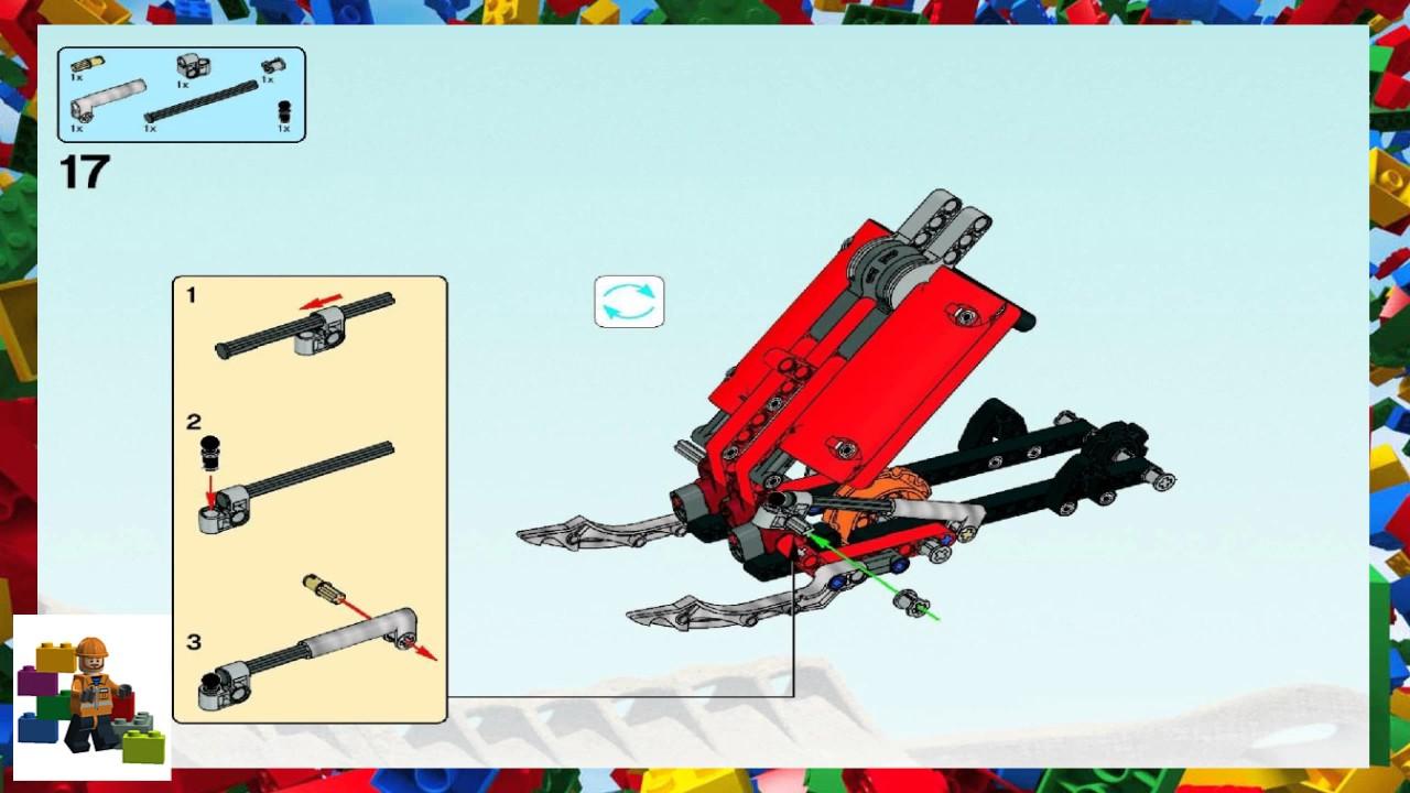 LEGO instructions - Bionicle - 8996 - Skopio XV-1 (Book 1)