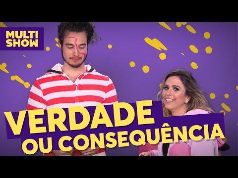 Verdade ou consequência | Tatá Werneck + Tiago Iorc | TVZ Ao Vivo | Multishow