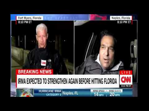 CNN Live coverage of Hurricane Irma with Anderson Cooper in Fort Myers