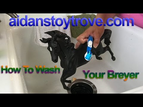 How To Wash Your Breyer - Model Horse Ramblings