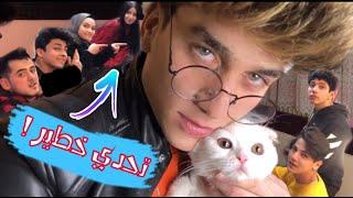 تحدي القطة مع فريق نور مار😂شوفو القطة مين حبت اكتر💔😱نور مار