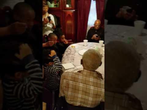 GRANDFATHERS 100TH BIRTHDAY