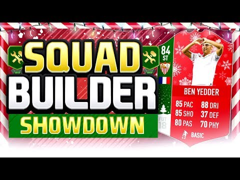 FIFA 18 SQUAD BUILDER SHOWDOWN!!! TOTGS BEN YEDDER!!! Advent Calendar Day 10