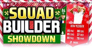 FIFA 18 SQUAD BUILDER SHOWDOWN TOTGS BEN YEDDER Advent Calendar Day 10