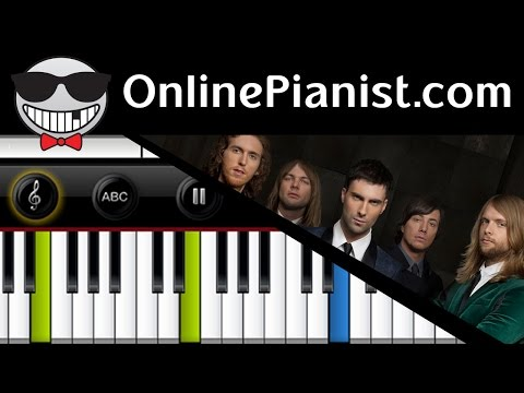 How to play Lost Stars by Adam Levine (Maroon 5) from Begin Again - Piano Tutorial Easy