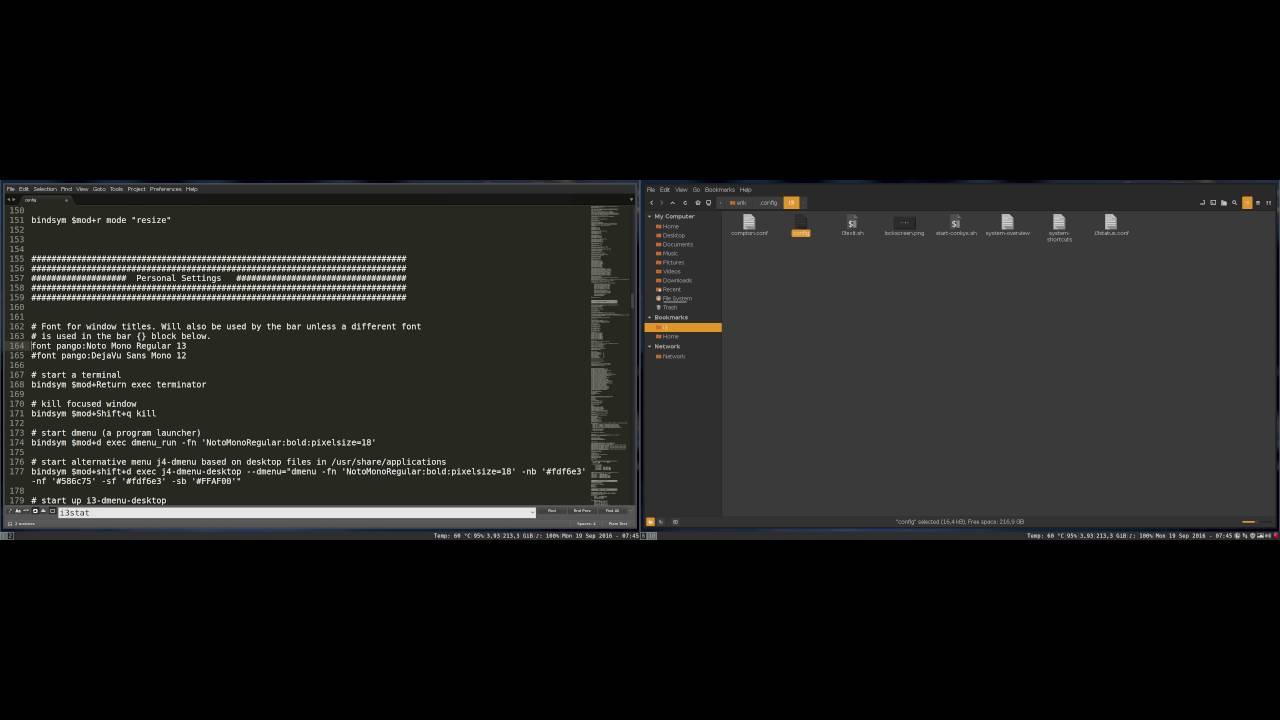 Changing the font type of i3 | ERiK DuBoiS