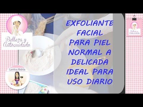 Exfoliante facial para piel normal a delicada youtube for Mobilia normal