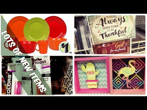 DOLLAR TREE SHOP WITH ME | Racheal Ray Dinnerware & Lots of NEW stuff!!!!
