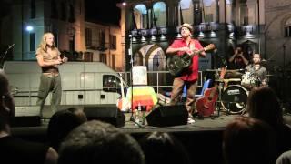 Francesco Piu live @ Piazza della Vittoria (Lodi)