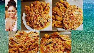 HOW To MAKE FRIED EGGS AND PLANTAIN (Nigeria recipes)