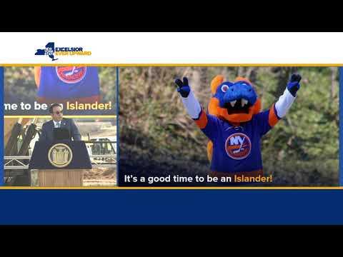 Governor Cuomo Breaks Ground On New Belmont Park Arena